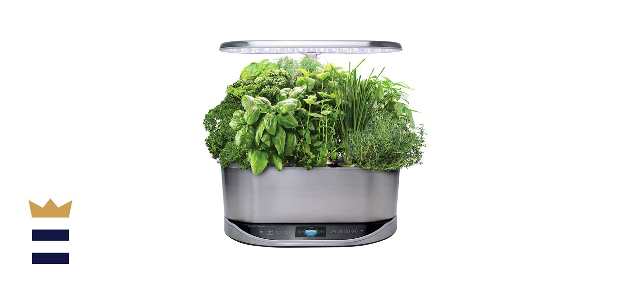 AeroGarden Bounty Elite Indoor Hydroponic Herb Garden