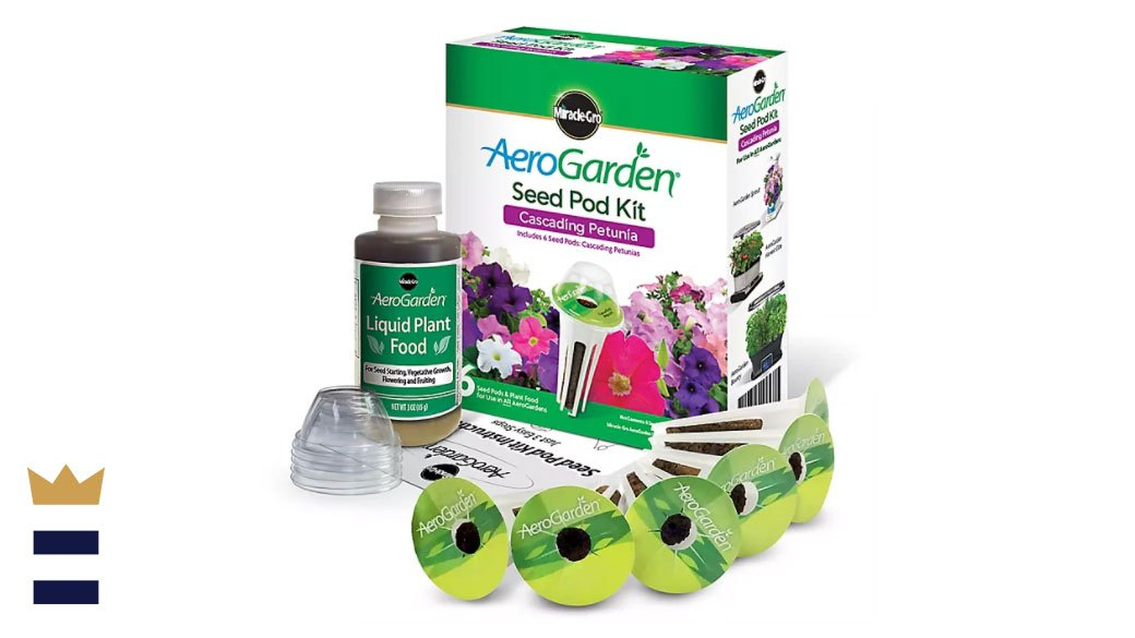 AeroGarden Cascading Petunia Seed Pod Kit