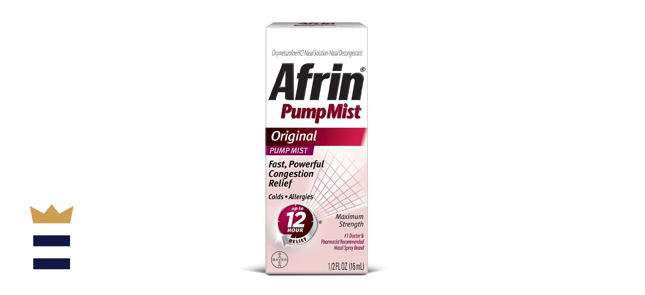 Afrin Original Maximum Strength Nasal Congestion Relief