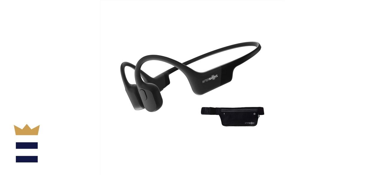AfterShokz Aeropex Open-Ear Bluetooth Bone Conduction Sport Headphones