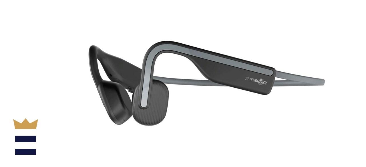 AfterShokz OpenMove Wireless Bone Conduction Open-Ear Bluetooth Headphones