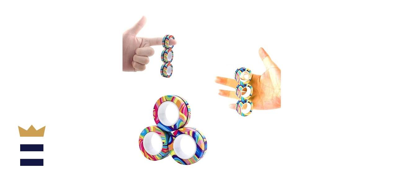 AHEYE 3-Piece Magnetic Finger Rings