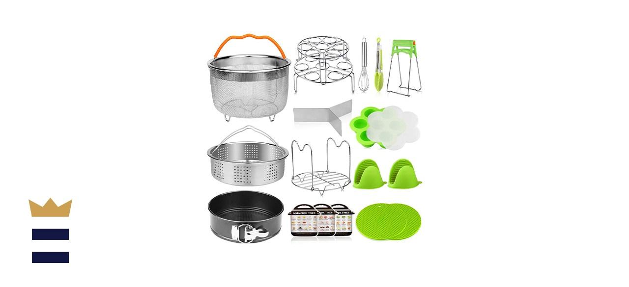 Aiduy 18 Piece Pressure Cooker Accessories Set