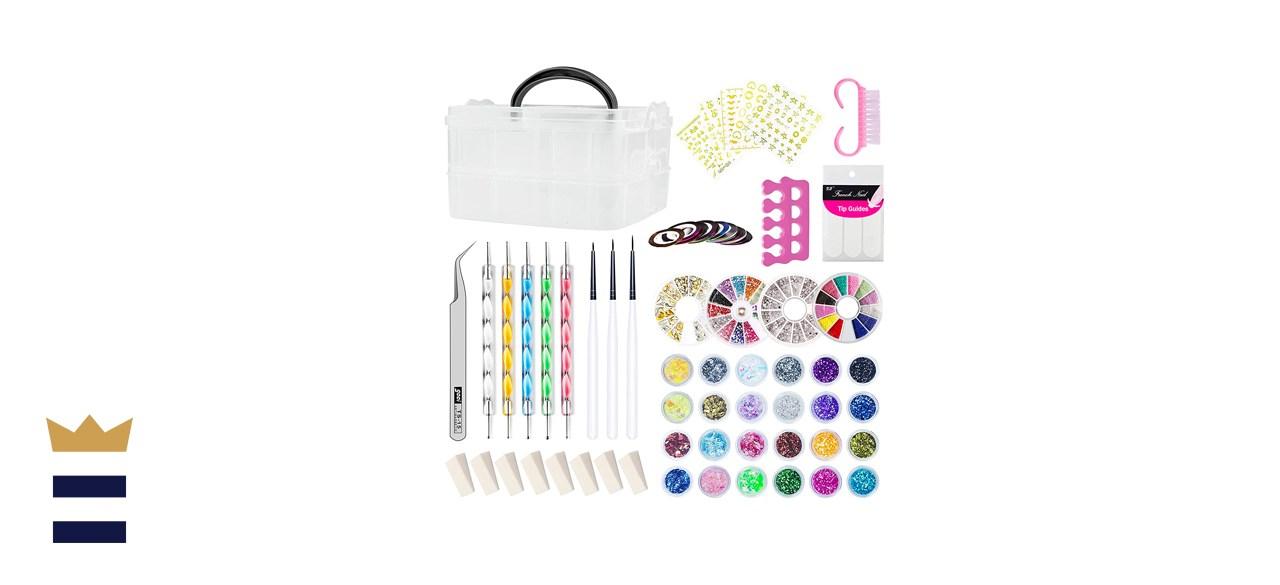Aifaifa Nail Beauty Advisor DIY Nail Art Manicure Kit