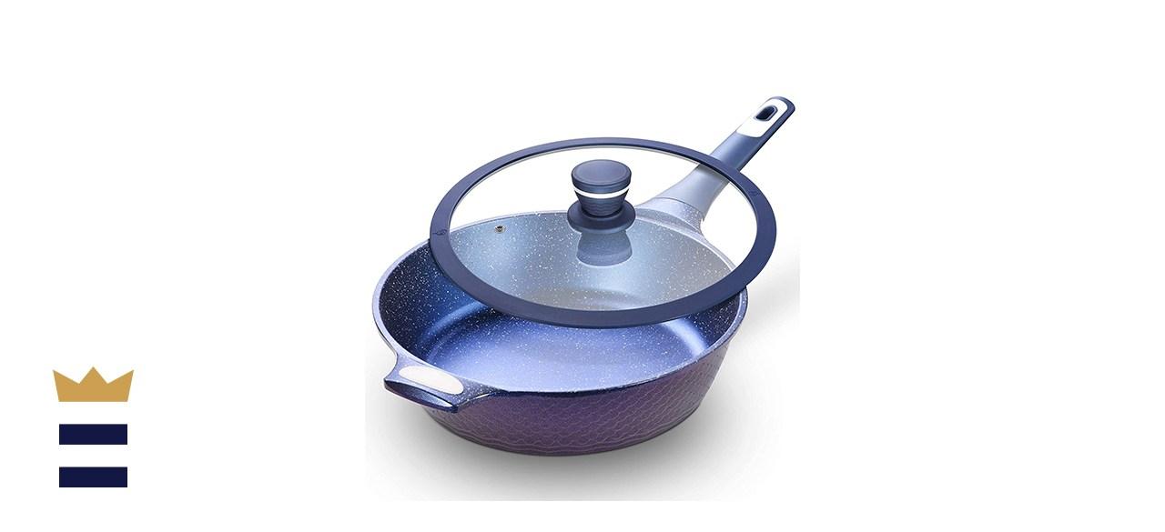 """Ailwyn 11"""" Nonstick Deep Frying Pan"""