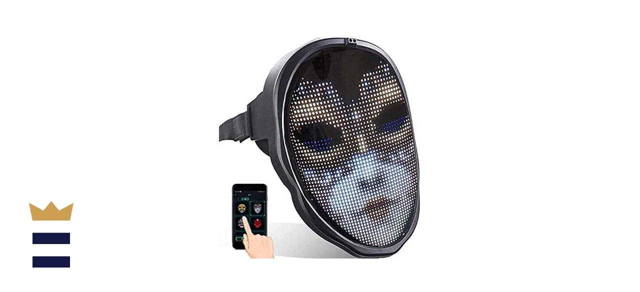 AINSKO Light up Mask with Bluetooth