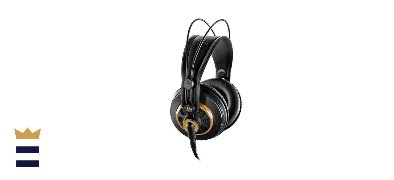 AKG Pro Audio K240 Over-Ear Semi-Open Back Studio Reference Headphones