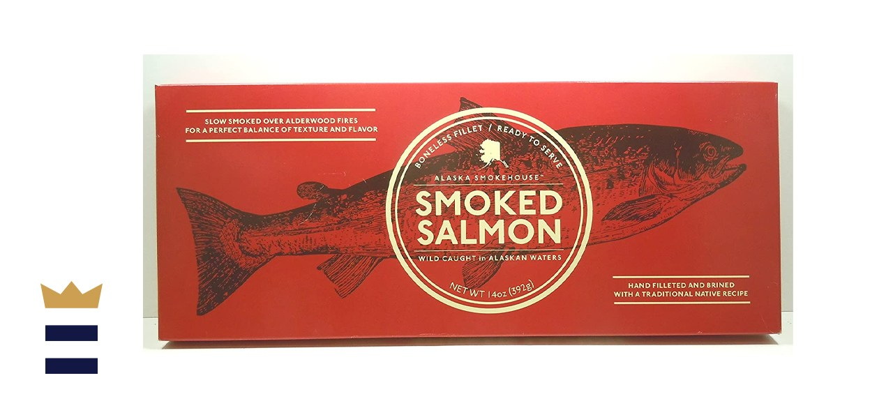 Alaska Seafood Naturally Wild Smoked Salmon