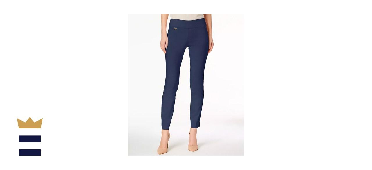 Alfani Pull-On Skinny Pants