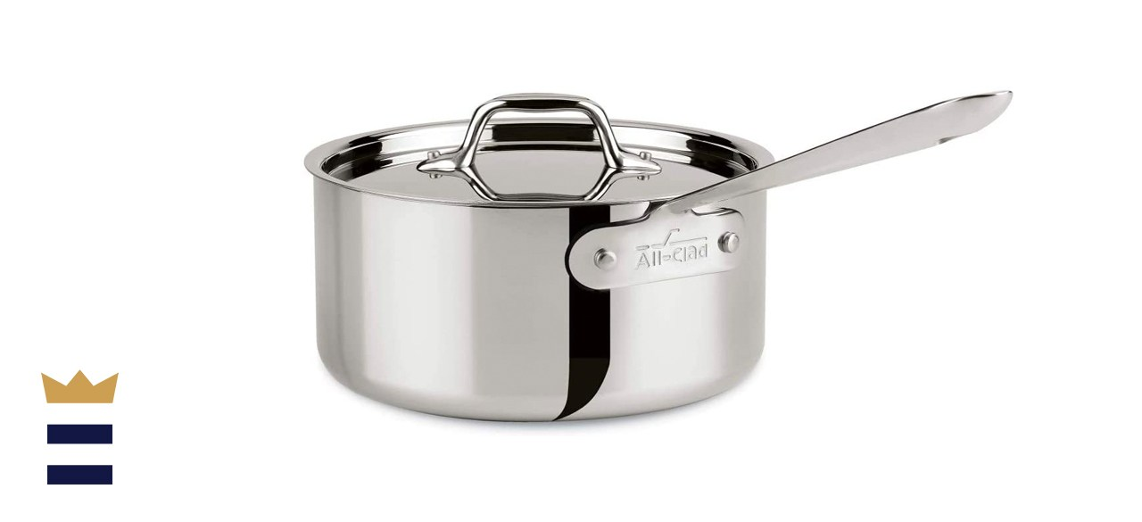 All-Clad 4203 Sauce Pan with Lid