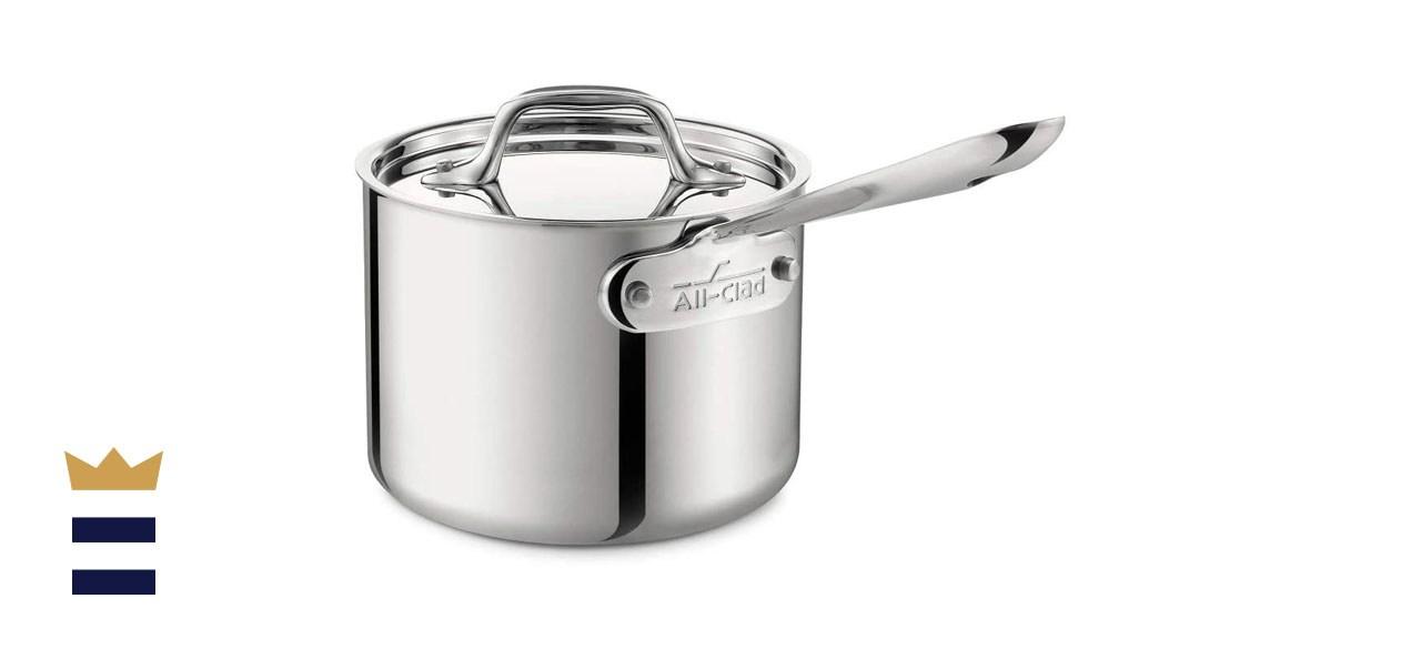 All-Clad Tri-Ply Bonded Saucepan