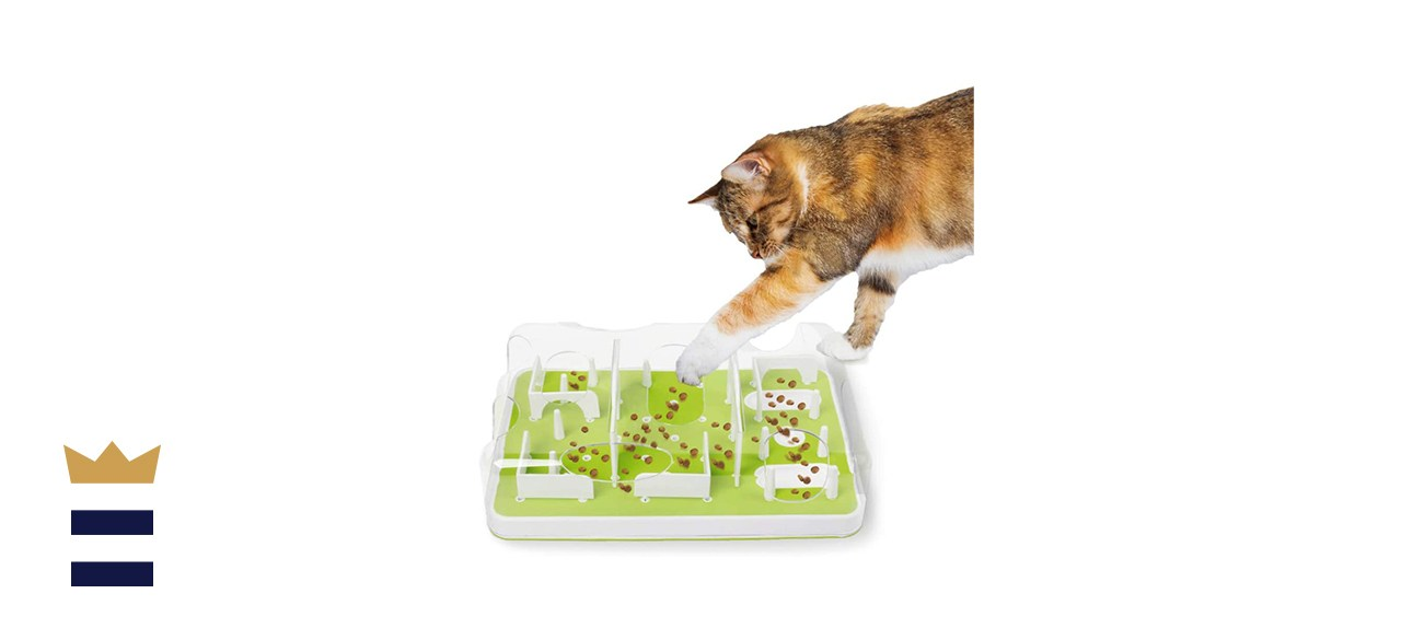All for Paws Interactive Puzzle Cat Feeder