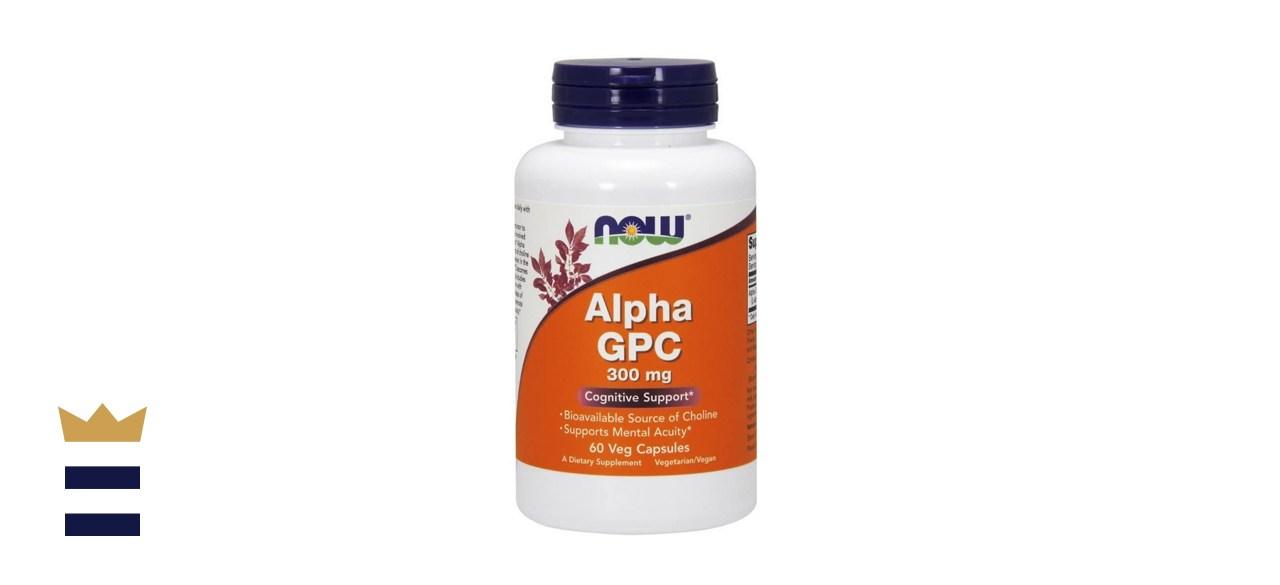 Alpha GPC Choline NOW Foods