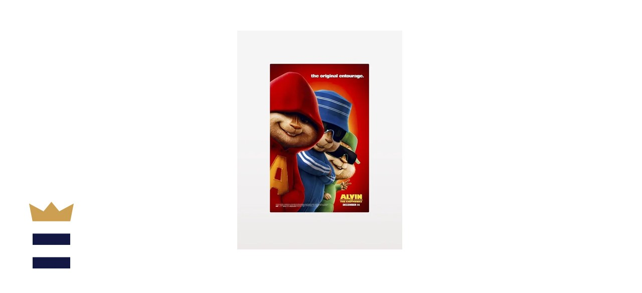 Alvin and the Chipmunks 2007 Poster Print