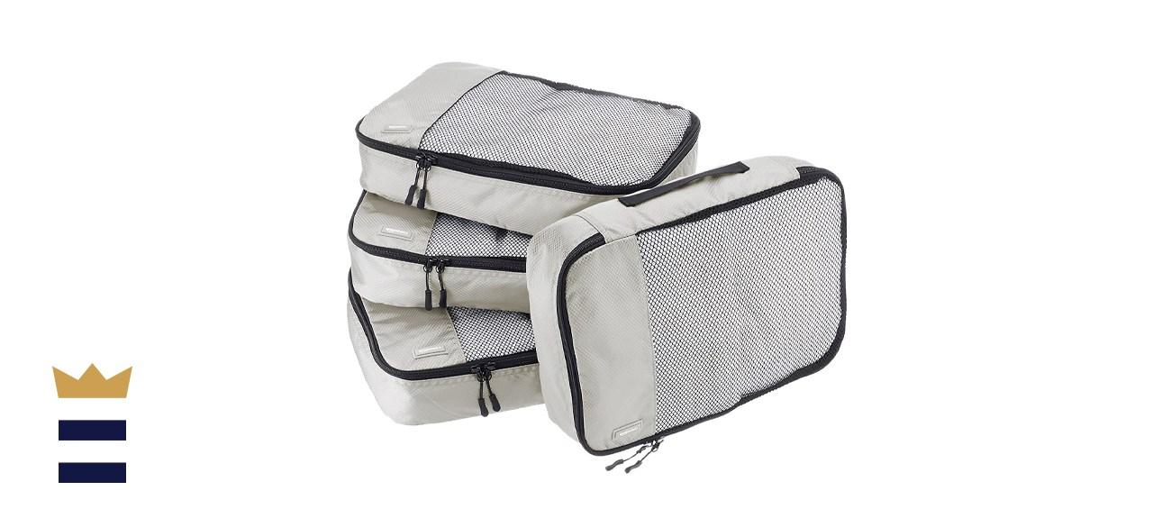 Amazon Basics 4-Piece Packing Cubes Set