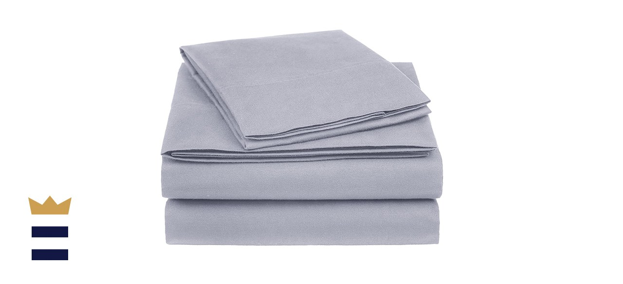 Amazon Basics Essential Cotton Blend Bed Sheet Set