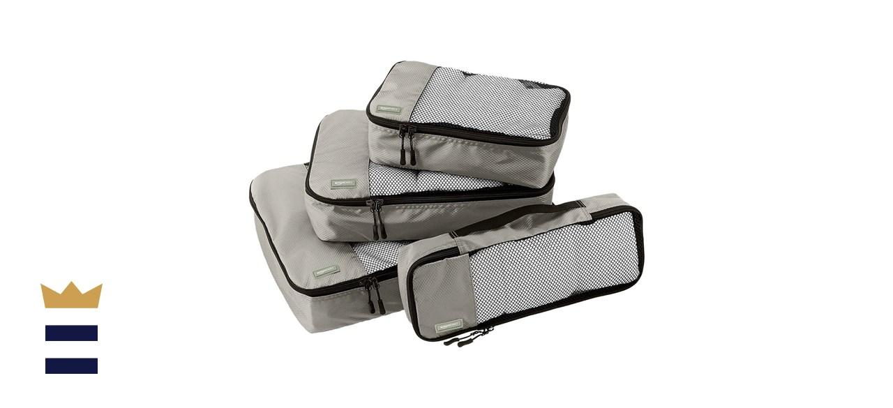 Amazon Basics Small Packing Travel Organizer Cubes Set