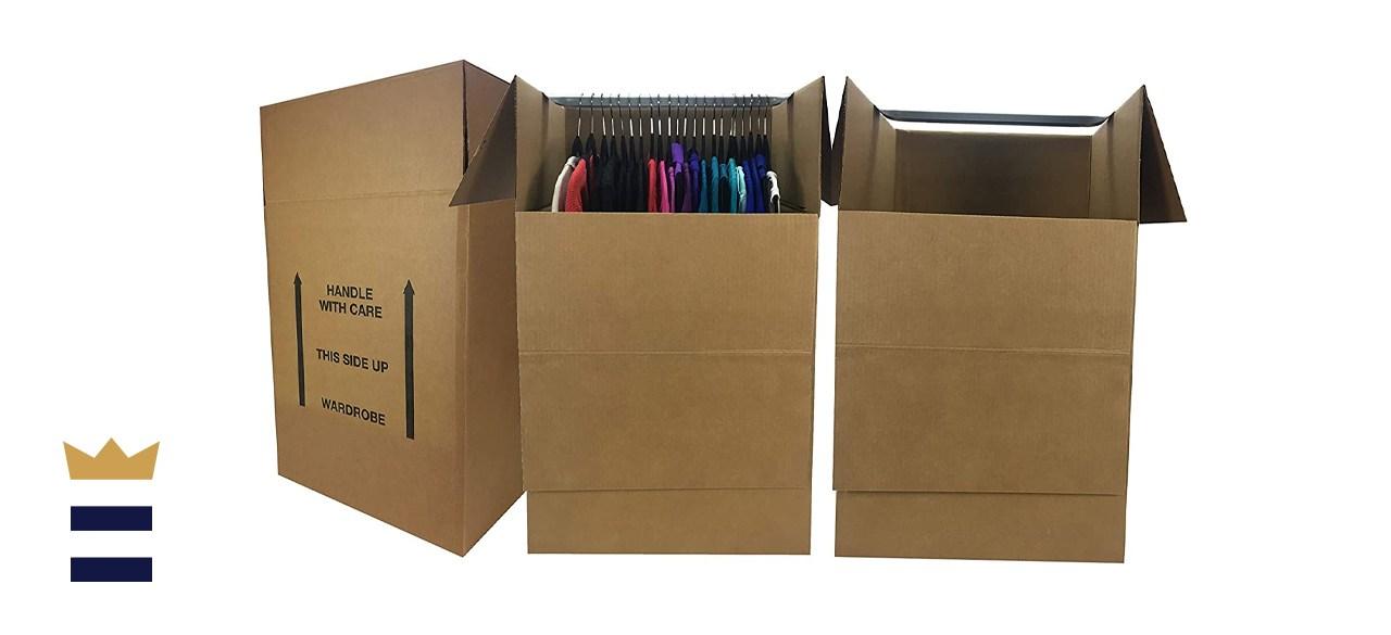 Amazon Basics Wardrobe Clothing Moving Boxes