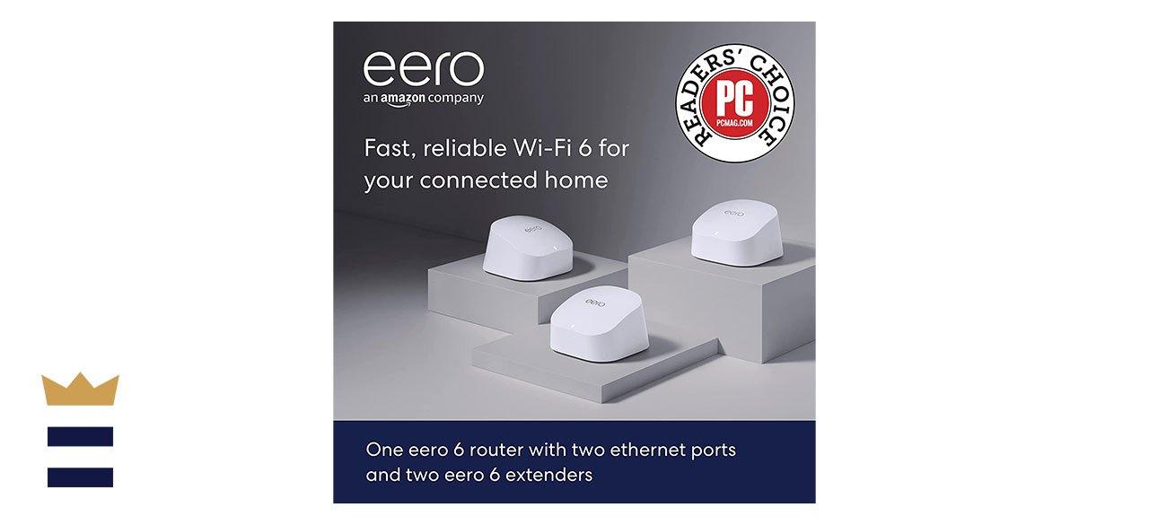 Amazon eero 6 Dual-Band Mesh WiFi 6 System