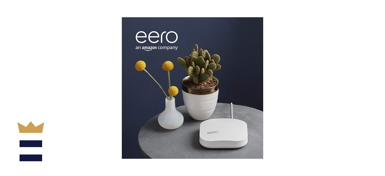 Amazon eero Pro Mesh WiFi system Three-Pack with Voice-Controlled Network