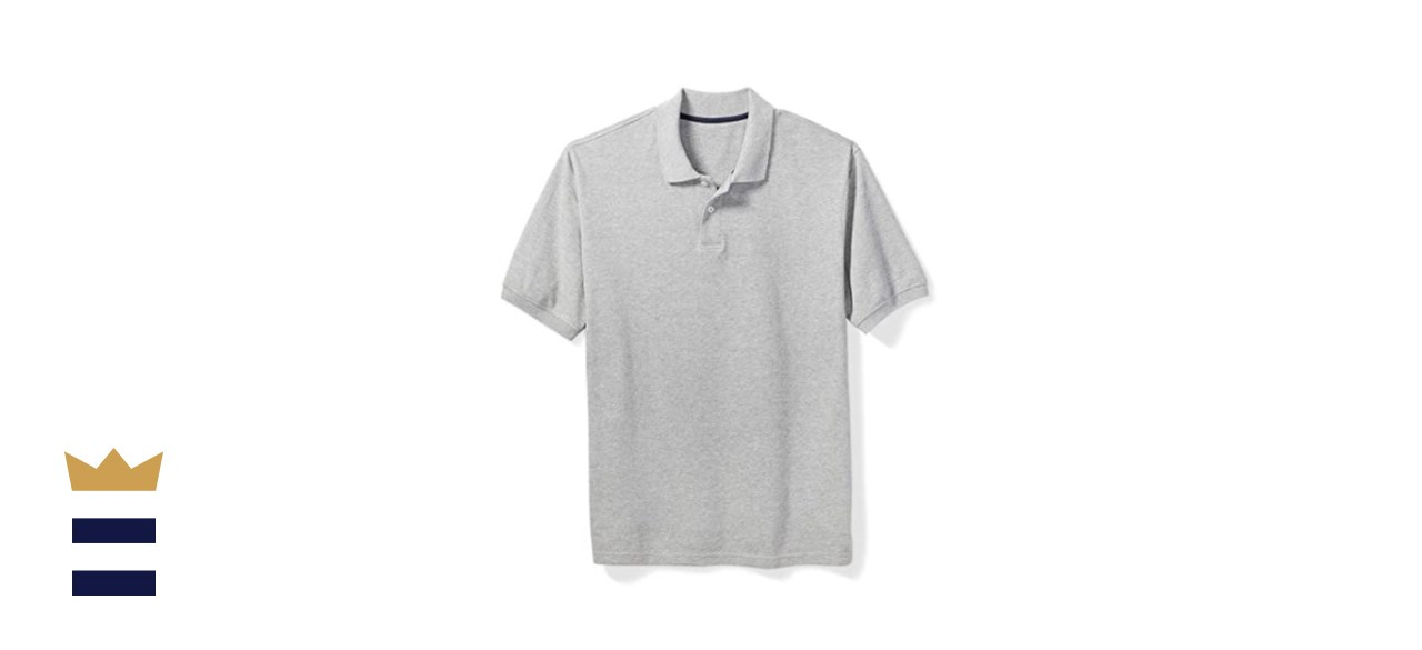 Amazon Essentials by DXL Men's Big & Tall Cotton Pique Polo Shirt
