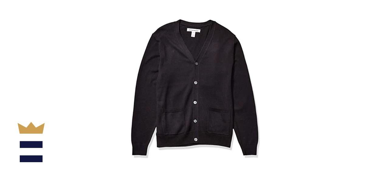 Amazon Essentials Men's Cotton Cardigan Sweater