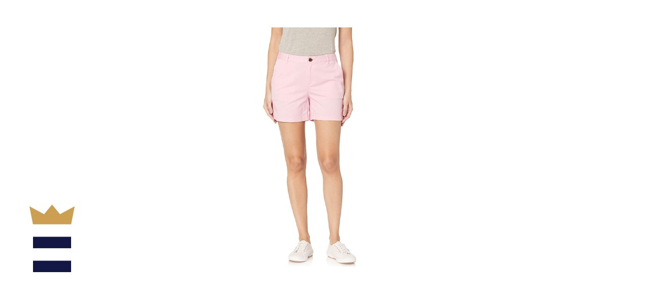 Amazon Essentials Women's 5-inch Inseam Chino Short