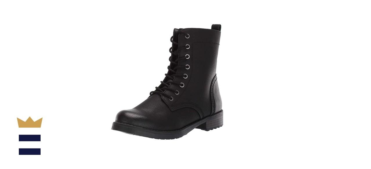 Amazon Essentials Women's Lace-Up Combat Boot