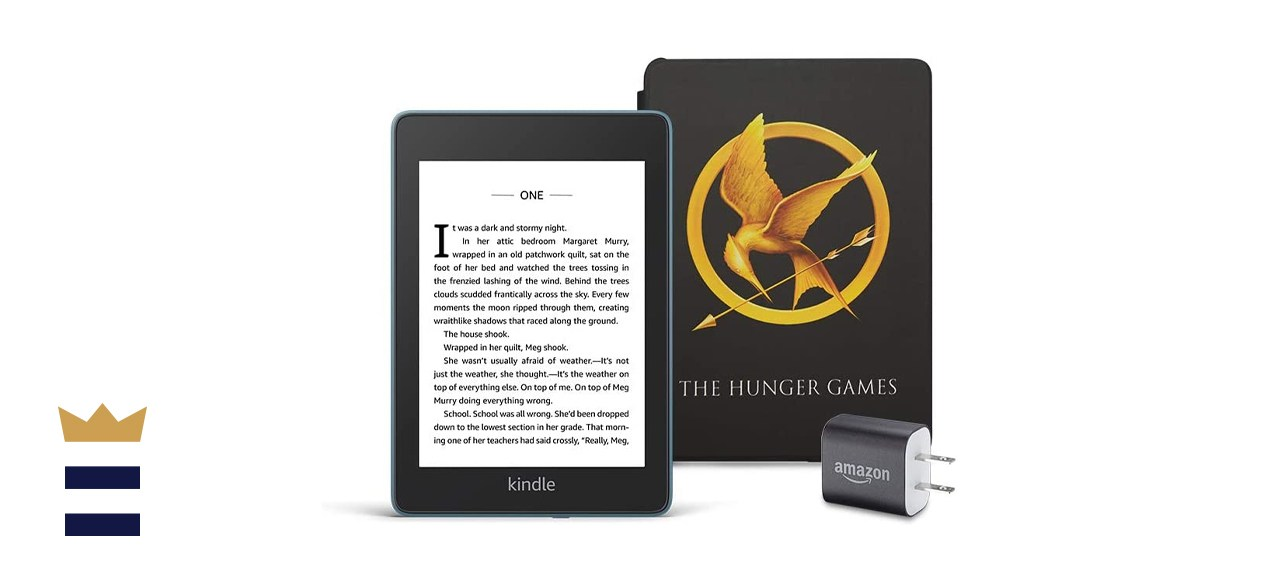 Amazon Kindle Paperwhite Bundle with The Hunger Games Cover