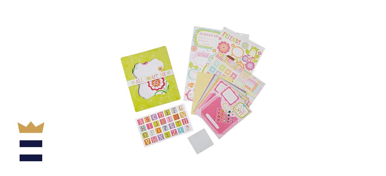 American Girl Crafts Mini Memory Book Scrapbooking Kit