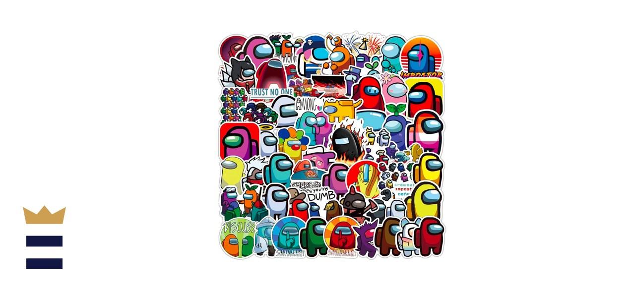 Among Us 100 piece sticker set