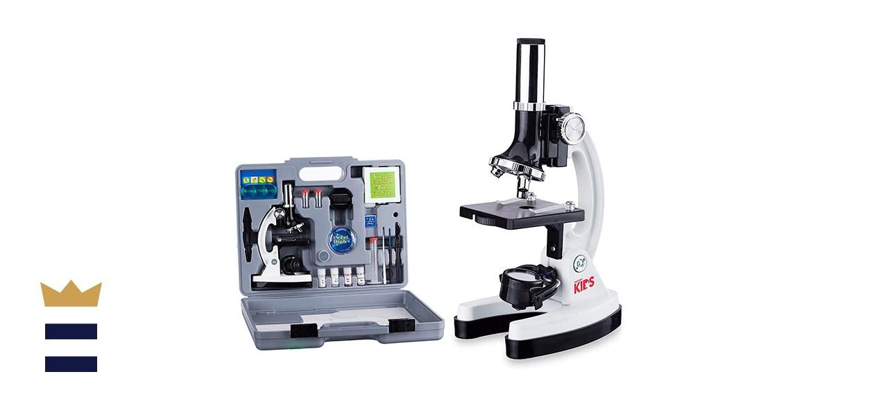 AmScope 120x-1,200x 52 Piece Microscope STEM Kit
