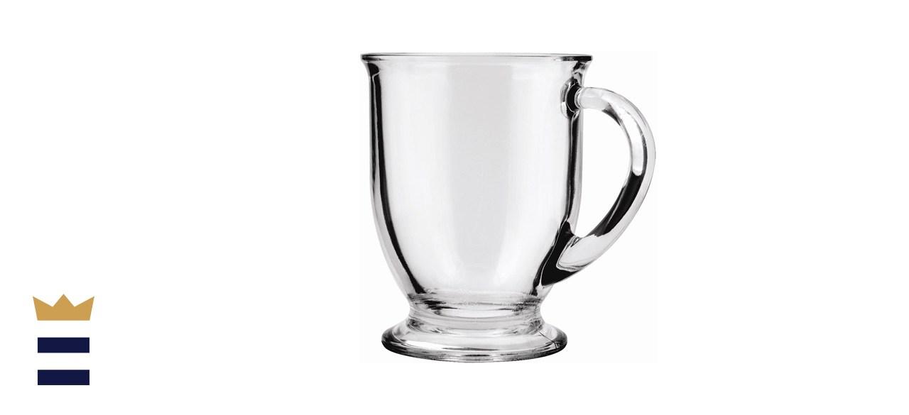 Anchor Hocking 16-oz Café Glass Coffee Mugs