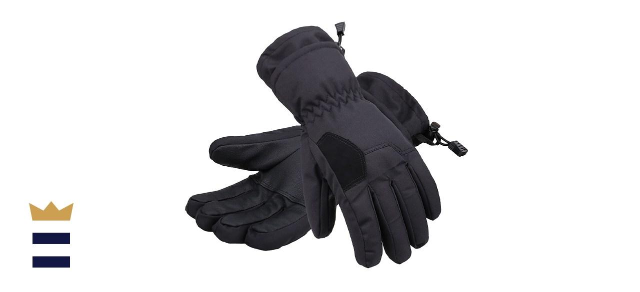 Andorra Kids' Waterproof Ski Gloves