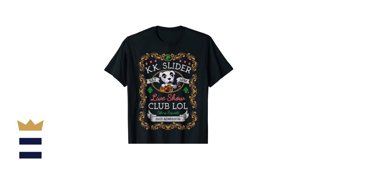Animal Crossing K.K. Slider Live Show Poster Graphic T-Shirt