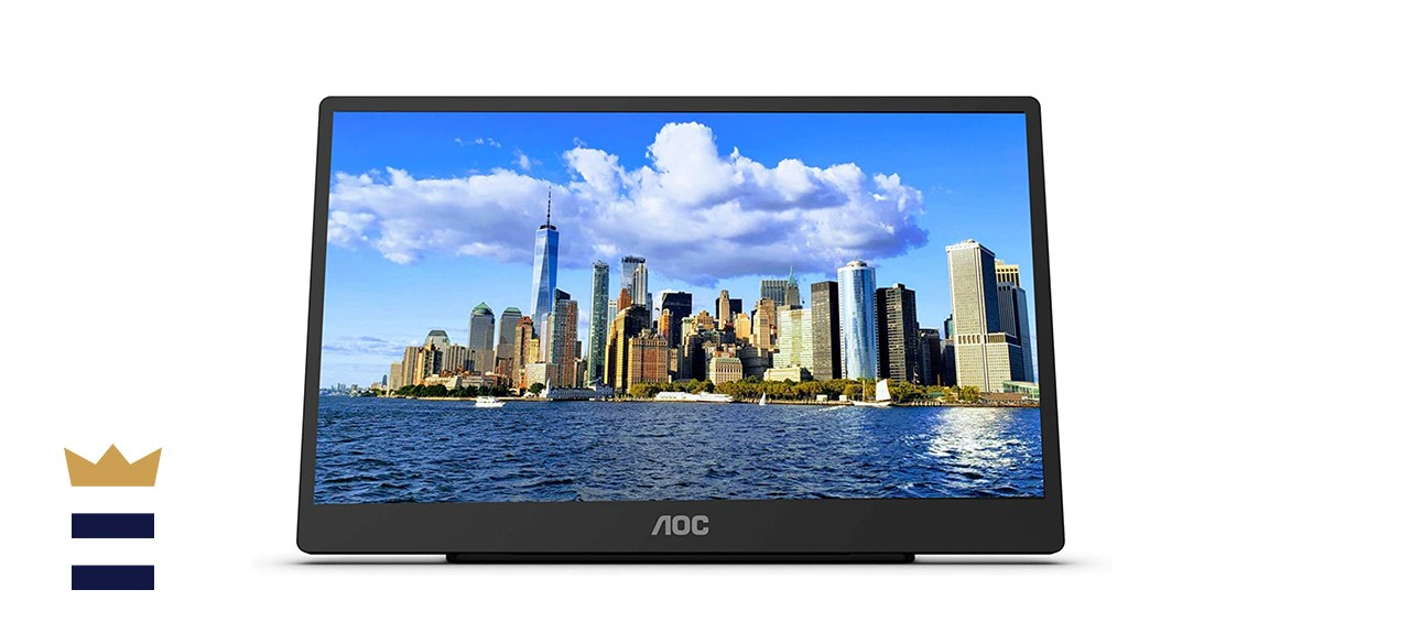 AOC 16T2 15.6 Full HD Touch-Enabled Portable IPS Monitor