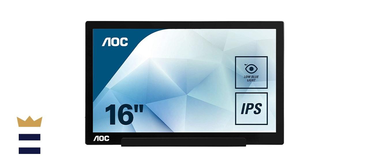 AOC I1601FWUX 15.6 USB-C Powered Portable Monitor