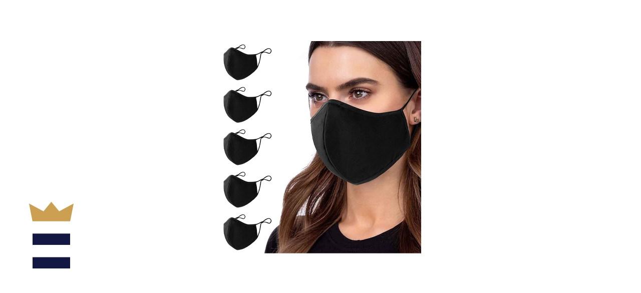 Aonsen Black Face Masks