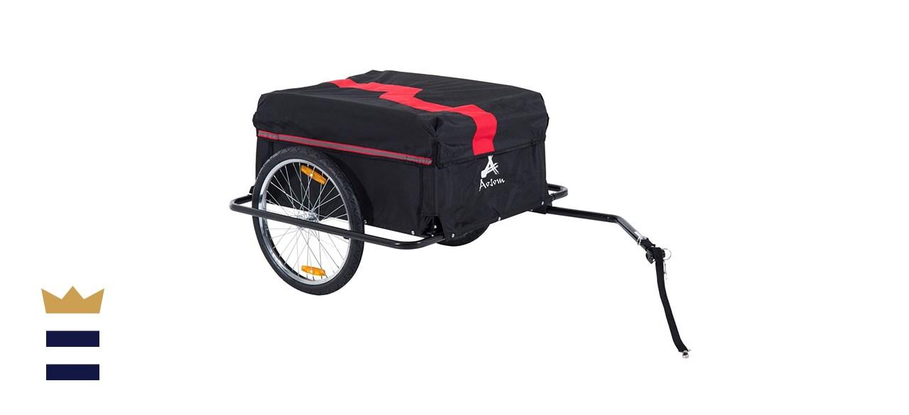 Aosom Elite Bicycle Cargo Wagon
