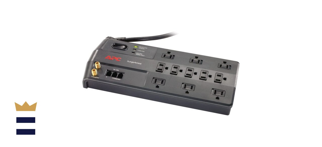APC Surge Protector with Telephone, DSL, and Coaxial Protection