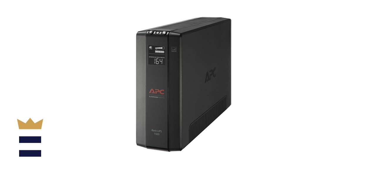 APC UPS Battery Backup & Surge Protector with AVR, 1500 Volt-Amperes