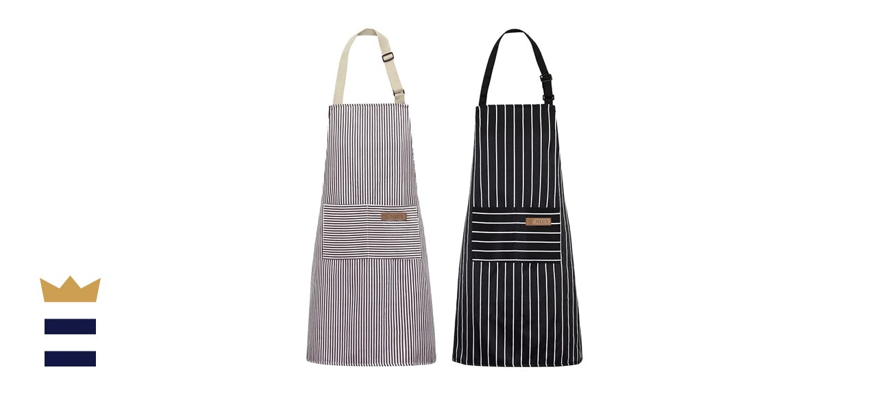 NLUS 2 Pack Kitchen Cooking Aprons