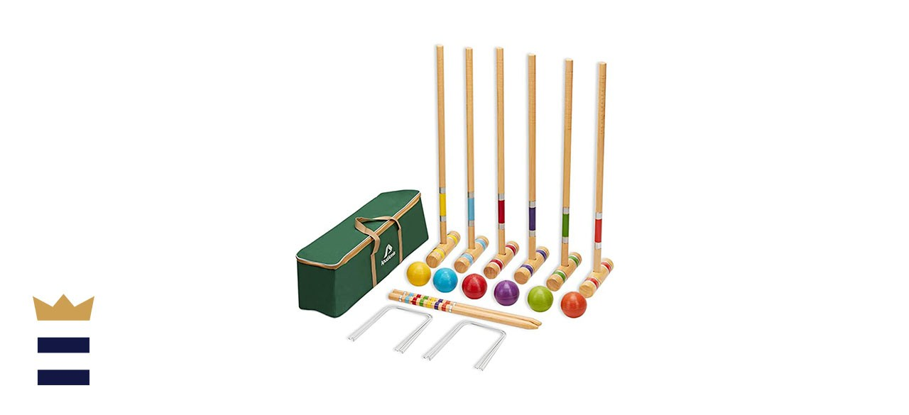 ApudArmis Six-Player Croquet Set