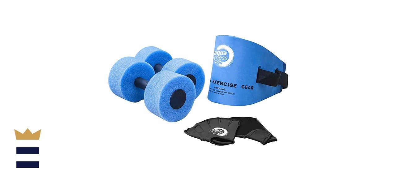 Aqua's Six-Piece Fitness Set