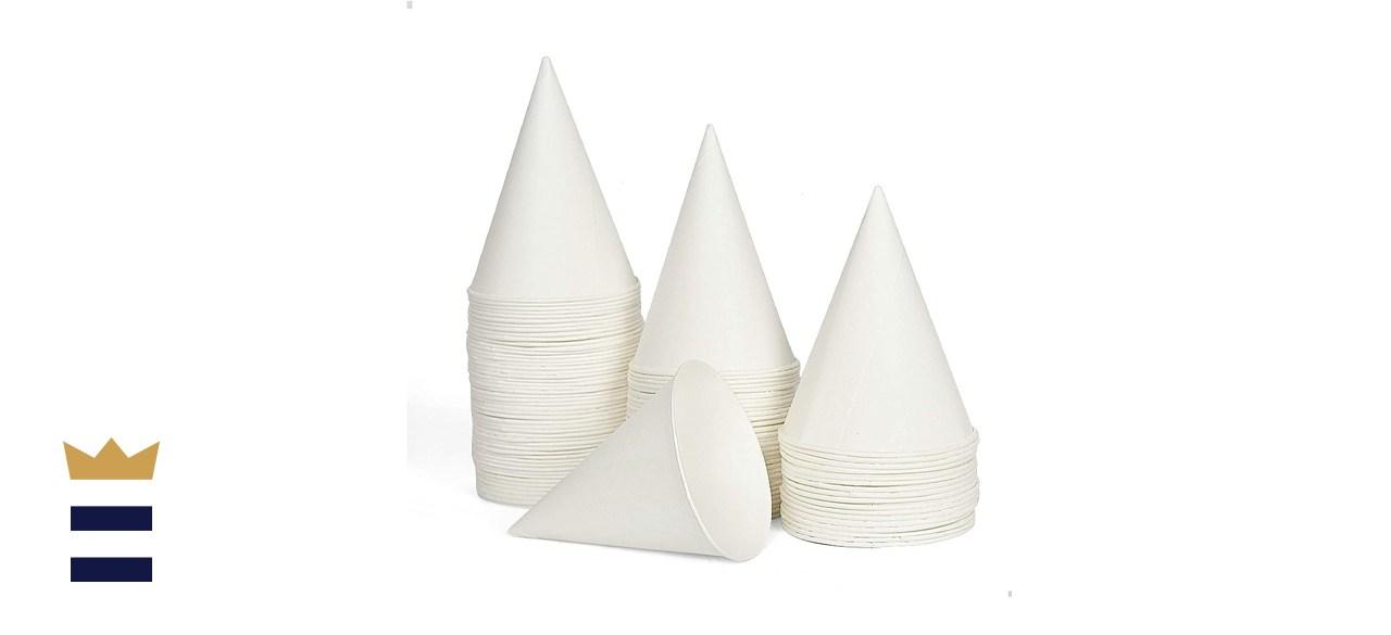 AQUEENLY 100 Snow Cone Cups