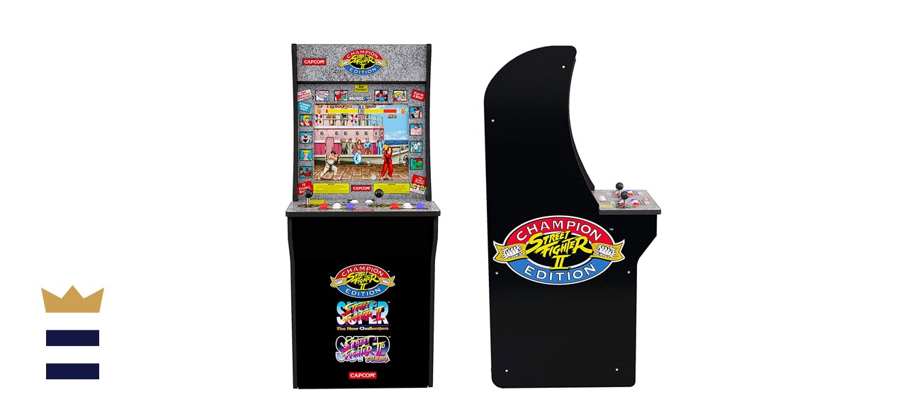 Arcade1Up Classic Cabinet Home Arcade (Street Fighter)