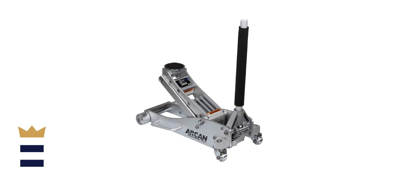 Arcan Aluminum Floor Jack - 3 Ton Capacity