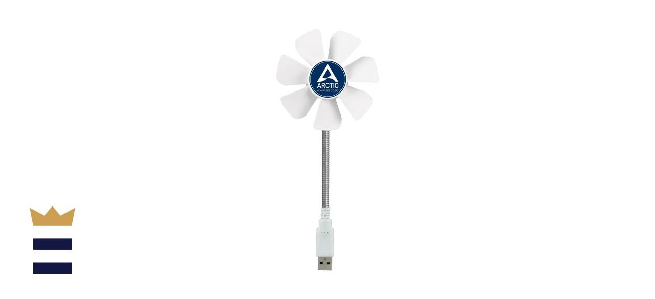 ARCTIC Breeze Mobile - Mini USB Desktop Fan with Flexible Neck