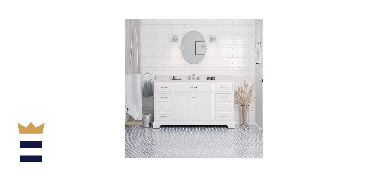 Aria 60-inch Single Bathroom Vanity