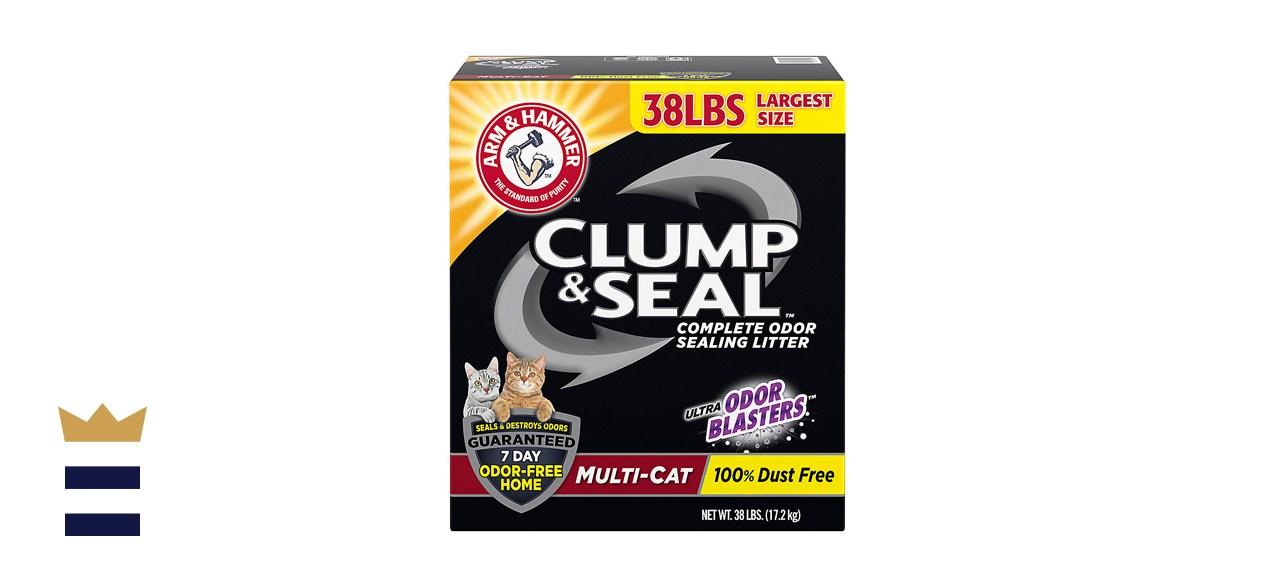 Arm & Hammer Litter Clump & Seal Multi-Cat Scented Clumping Clay Cat Litter